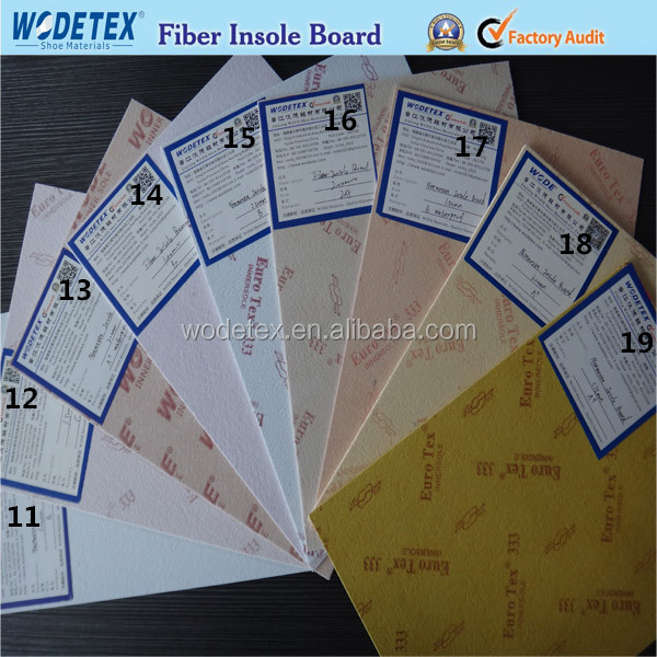 excellent non woven shoe insole board of manufacture