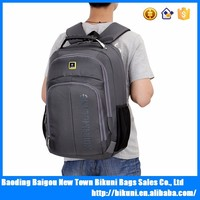 Custom korea new fashion large capacity functional 15 inches school college laptop backpack with laptop compartment