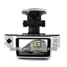 HD 1080P Dual Camera Lens Car Vehicle DVR +Video Recorder +X9000 Blackbox