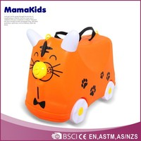 Hot-selling European style child luggage bag 2015 kids travel trolley bags