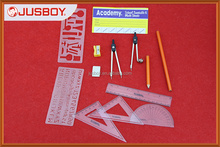 14pcs Geometry set, Geometry tool, Geometry instrument made in China
