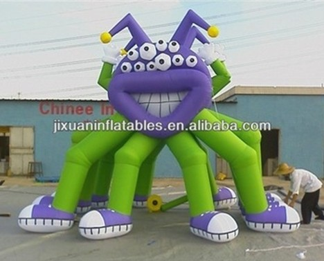 giant octopus inflatable cartoon character
