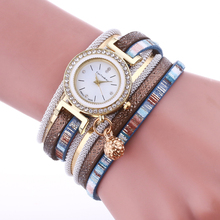 2941 Fashion Quartz Lady Watches Women Luxury Ellipse Leather Dress Wrist Wrap gold watch ladies