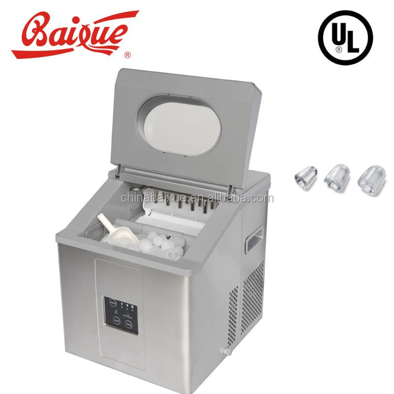 household countertop mini portable ice making machine