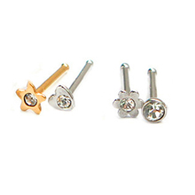 Sizes in 20g or 18g nose stud pack sell to UK and other countries
