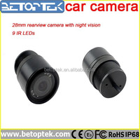 28mm Small Camera With Night Vision Security Camera Outside Car