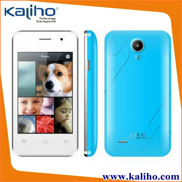 3.5 inch dual core 3g low cost touch screen mobile phone