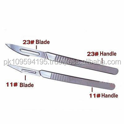 11# 23# Carbon Steel Surgical Scalpel Blade Graver Chisel +11# 23# Handle surgical instruments by Tahir Surgical