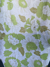 2016 Wholesale Curtain Rose Printed Voile Sheer Curtain Drapery