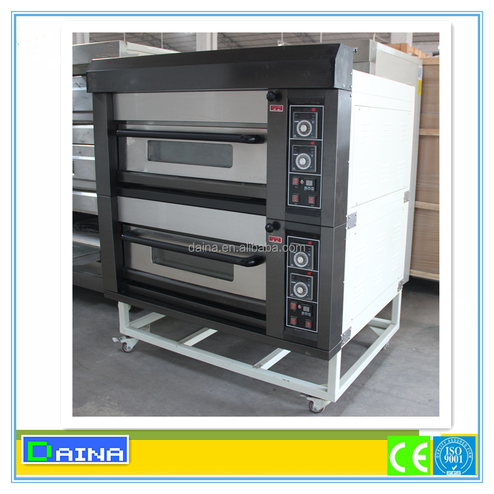 Precision manufacturing 2 deck electric baking oven/gas baking oven