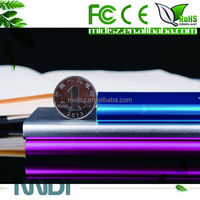 ultra slim Power Bank ,Mobile Battery Charge with 2 usb output ports 19000mah