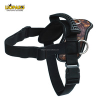 Reflective Nylon Strong Padded Heavy Duty Dog Training Harness For Big Dog