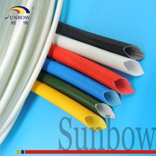 SUNBOW High Quality Silicon Varnished Fiber Glass Insulation Tube