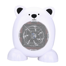 Bear Shape Portable Small 220V 350W Warm Air Blower Electric Fan <strong>Heater</strong>
