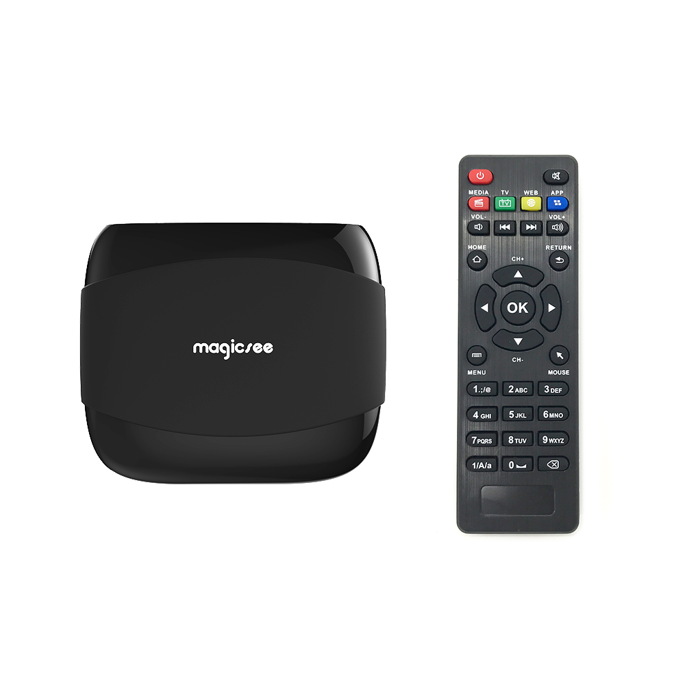 Trade assurance online order Magicsee N4 s905x 2GB RAM <strong>16GB</strong> ROM android tv box 4K media player