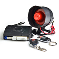 Easy install security keyless entry one way car alarm system with ultrasonic output