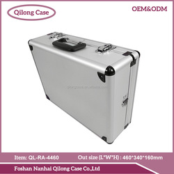 One-stop service silvery large Aluminum tool box