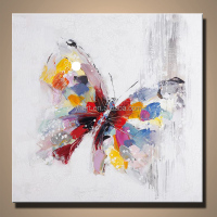 Colorful Modern Butterfly Painting for Home