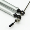Aluminium handle,universal head with ball bearing,cable jump rope for Cross Fitness Training,speed jump rope