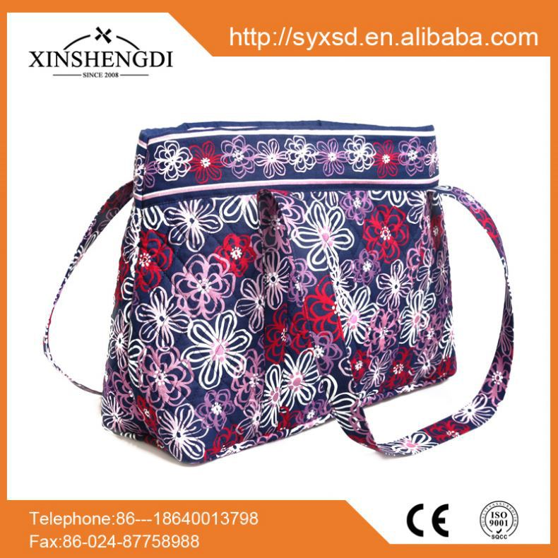 2016 hot sale cotton colorful quilted designer travel china wholesale handbags free shipping