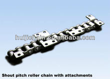 roller chain with attachments special chain