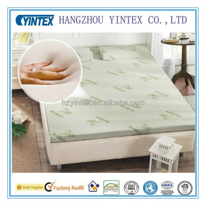 Best quality Double Size 12CM 45D Bamboo Mattress Memory Foam Factory