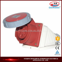 IP67 16A 220-380V Industrial waterproof south africa wall socket