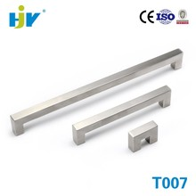 Shenzhen hardware suppliers stainless steel square cabinet handles