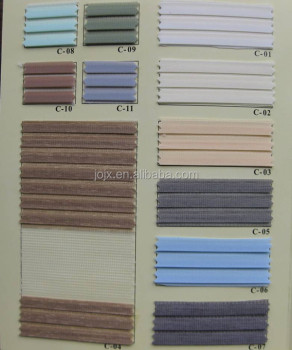 7-pleated zebra blinds fabric