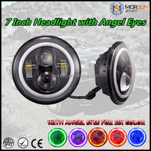 2016 New china 4x4 accessories 7 inch led headlights 4x4 led sealed beam headlights 7 inch halo headlight