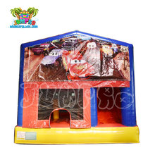 Used inflatable car theme bouncer sale jumping castles with prices