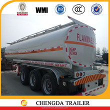 best price straight frame trailer mounted fuel tank made in China