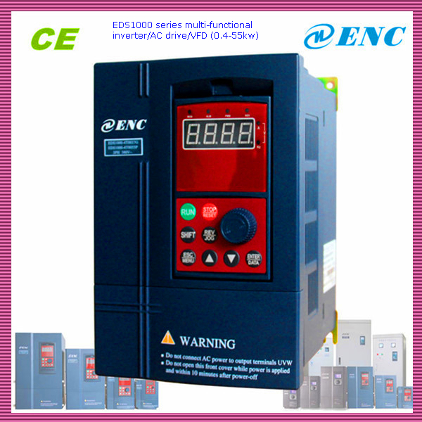EDS1000 universal frequency inverter/AC drive/VFD single phase 220V 0.75KW AC motor