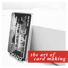 Printing/blank plastic gift card