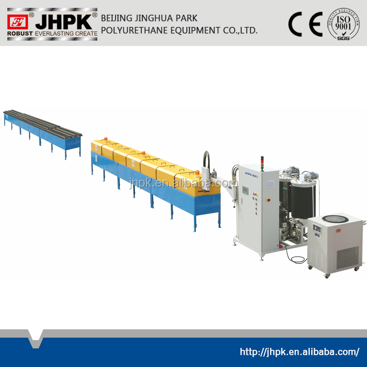 polyurethane foam injection machine for window profile insulation