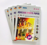 adhesive glossy photo paper self adhesive a4 printing paper 135gsm