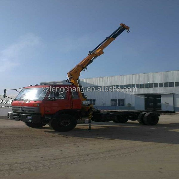 factory hot price sale 6.3ton swivel hydraulic knuckle boom lifting truck mounted crane SQ6.3ZA3/ISO