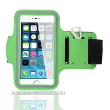 China supply Universal Smartphone Armband Case For iPhone 6, Lycra Mobile Phone Running Armband