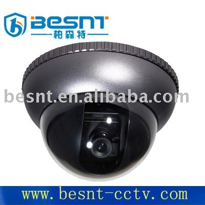 "2012 hot sales Dual 1/4""SHARP CCD 420TVL power big lens color dome camera"