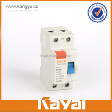 high quality circuit breaker automatic reclosing rccb/elcb with factory price