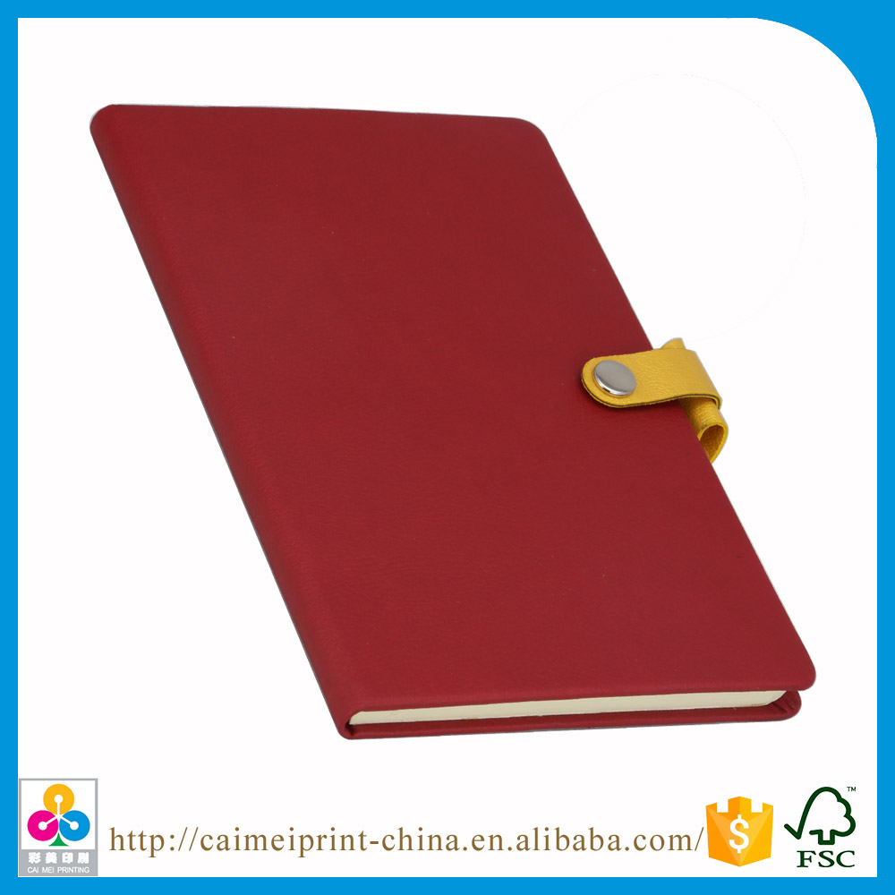 shenzhen factory diary notebook with lock
