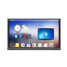 4k interactive touch screen multi touch interactive flat panel display for smart classroom