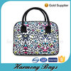 Fashionable women's fancy leopard print cosmetic bag