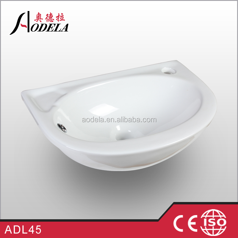 ADL45 bathroom ceramic hand wash cabinet basin