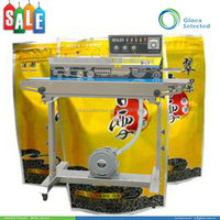 CE approved vertical new design 45kg continuous plastic film sealing machine