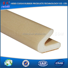 Self adhesive sound insulation rubber strip door seal