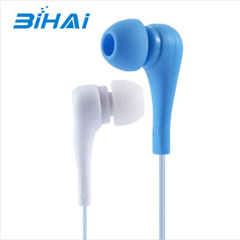Factory brand headset bass high fidelity headset universal wire-controlled voice with mic ear style earphone