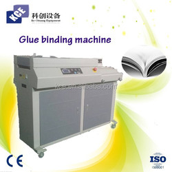 Photo book album harcover glue machine for binding