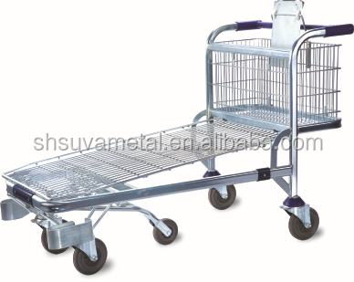 Flat trolley cart,stainless steel platform tool,FLAT TROLLEY CART(SY-F004)