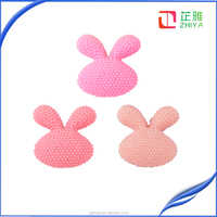 wholesale colorful rabbit resin cabochon